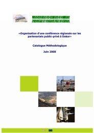Catalogue Méthodologique Juin 2008 - ACP Business Climate