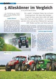 5 Alleskönner im Vergleich - Landwirt.com