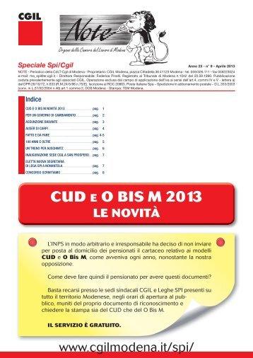 NOTE MODENA n°9 Apr 2013.indd - CGIL Modena
