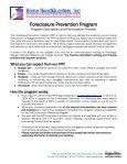 Foreclosure Prevention Program - Page 2