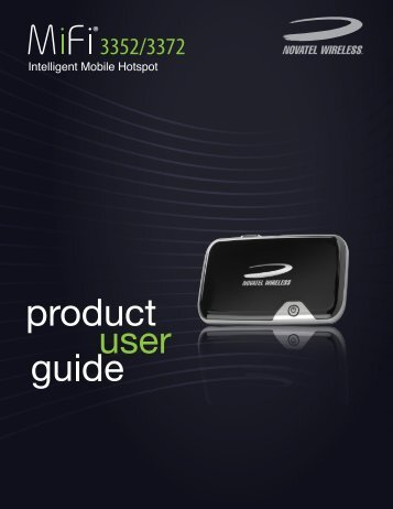 Novatel MiFi 3352-3372 User Guide R1 - Novatel Wireless