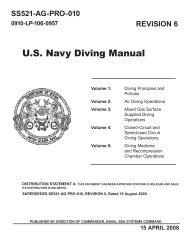 US Navy Diving Manual pdf - (DIR) Diving