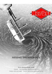 MIXING TECHNOLOGY - Herbst Planetary Mixer