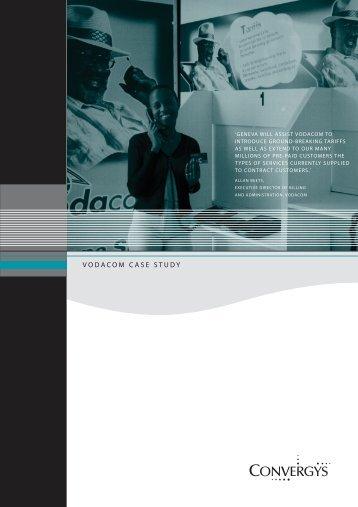 Vodacom Case Study