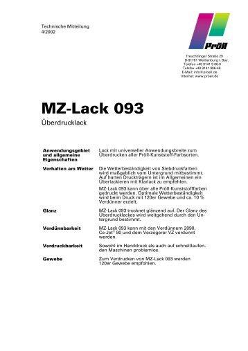 MZ-Lack 093