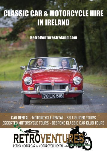 CLASSIC CAR & MOTORCYCLE HIRE IN IRELAND