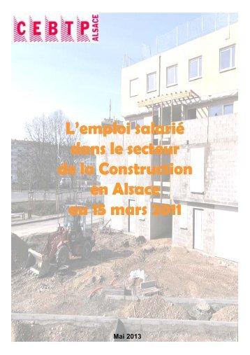 Au 15 mars 2011 - Cellule Économique du Bâtiment et des Travaux ...