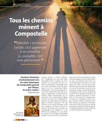 Tous les chemins mènent à Compostelle - Saint-jacques-alsace.org