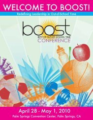 Lakeshore…for the best in extended day materials! - BOOST Best of ...