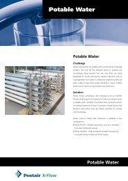 Potable Water - X-Flow
