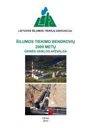 2009 metai statistika.pdf - Lietuvos šilumos tiekėjų asociacija (LŠTA)