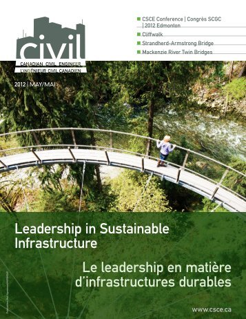 2012 Conference issue vol. 29.2 - CSCE • Canadian Society for Civil ...