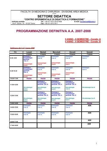 Unito Calendario Didattico.10 Free Magazines From Medchirurgia Campusnet Unito It