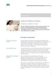 Basiswissen GEBÄUDE-ENERGIE-AUSWEIS - Volksbank ...