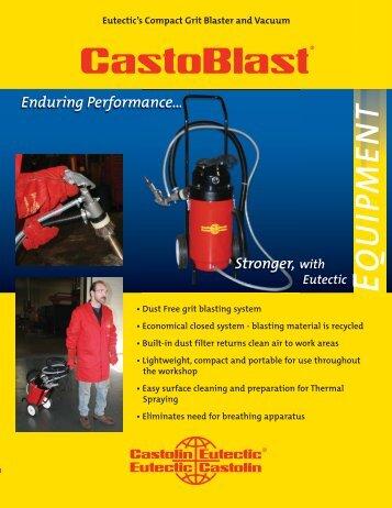 Eutectic CastoBlast.indd - Castolin Eutectic