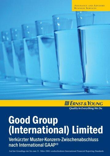 IFRS Good Group_Zwischenberichterstattung - Schweiz
