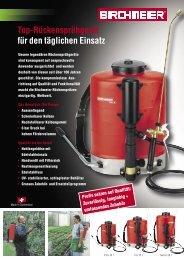 Ausführliche Produktbeschreibung - Birchmeier Sprühtechnik AG