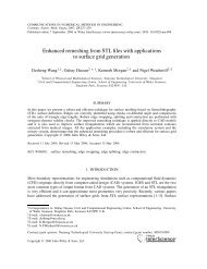Enhanced remeshing from STL files with applications to ... - CiteSeerX