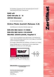bank21-Release 4.8 - GAD eG