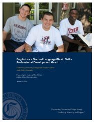 English as a Second Language/Basic Skills Professional - California ...