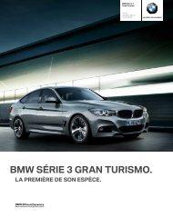 Les équipements en option de la BMW Série 3 Gran Turismo 1 mars ...