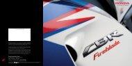 seit 20 jahren supersport- legende - Honda