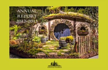 2012-13 Annual Report - The Arboretum Foundation