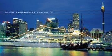 Chapter 1..... - Sydney Ports