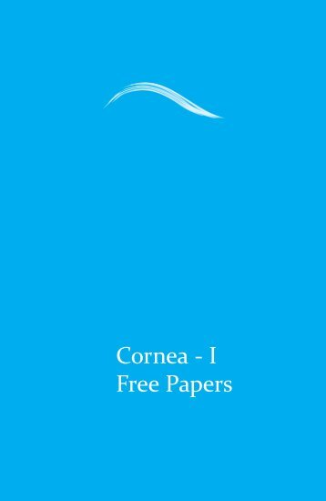 Cornea - I Free Papers - aioseducation