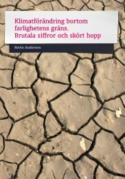 Klimatförändring bortom farlighetens gräns ... - What Next Forum