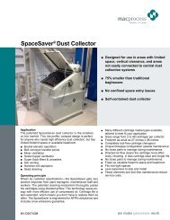 SpaceSaver® Dust Collector - Mac Process Mac Process