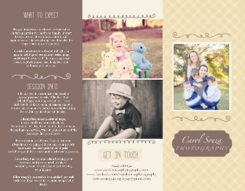 Family Session Prices and Info