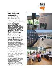 Nyt Hospital Bispebjerg - Byens Netværk