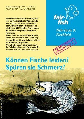 Können Fische leiden? Spüren sie Schmerz? - Fair Fish