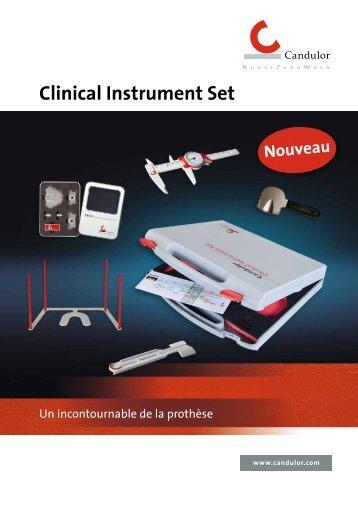 Clinical Instrument Set - Candulor