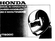Page 1 Page 2 Page 3 HONDA VT60OC MANUEL DU ...