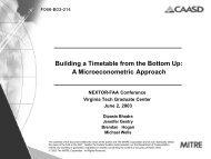 Building a Timetable from the Bottom Up: A Microeconometric ...