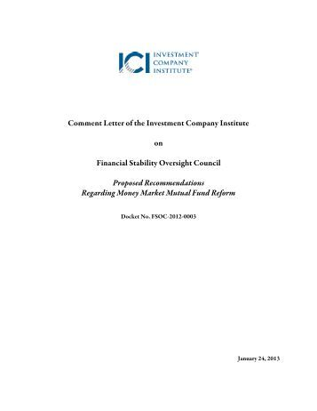 icis comment letter to fsoc investment company institute