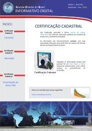 CERTIFICAÇÃO CADASTRAL - Grande Oriente do Brasil