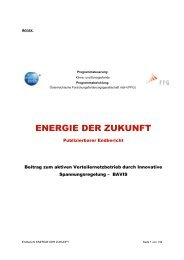 Projekt BAVIS - Smart Grids