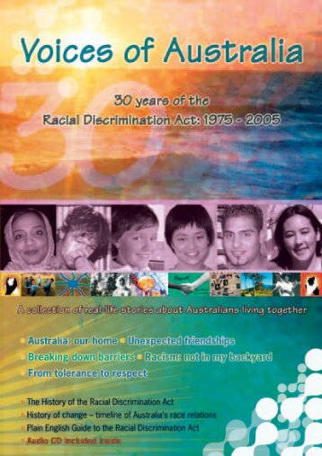Voices of Australia magazine - Australian Human Rights Commission