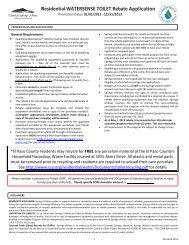 Application - Colorado Springs Utilities