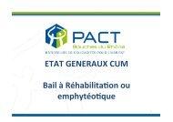 Le bail à réhabilitation ou emphythéotique - Habiter-mpm.info