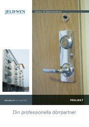 Din professionella dörrpartner - Jeld - Wen