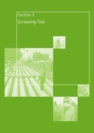 Screening Tool English - International Alert