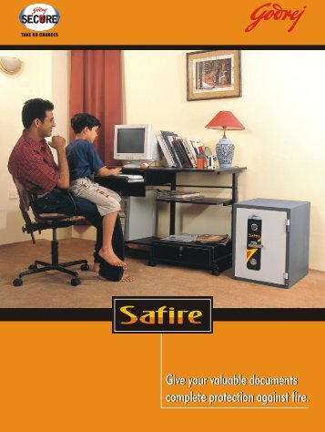 to download Brochure Safire Fire Resistant Safe - Three Start ...