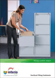 to download the Brochure of Vertical Filing Cabinets