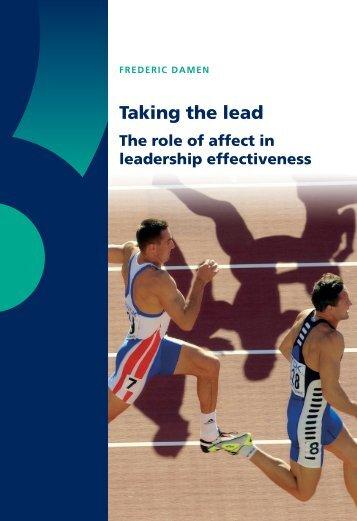 Damen Dissertation - Jepson School of Leadership Studies