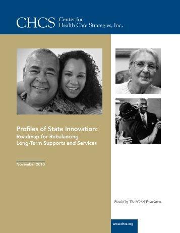 Rebalancing Roadmap - Center for Health Care Strategies