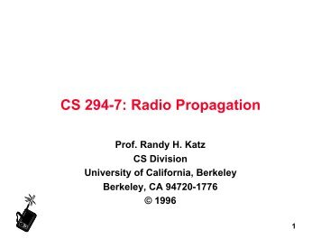 CS 294-7: Radio Propagation - Netlab